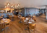 Zizzi Roxburgh Edinburgh refurbishment by Turret Developments