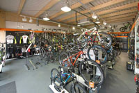 Criterium Cycles Edinburgh Store Refurbishment by Turret Developments