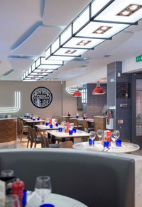 Pizza Express Princess Square Glasgow Refit